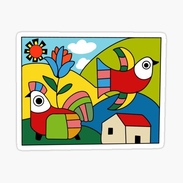 Arte Salvadoreño Pegatina