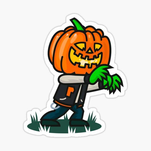 The Varsity Pumpkin Sticker
