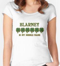 Irish Blarney Women's Fitted Scoop T-Shirt