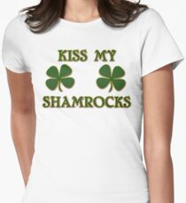 Irish Kiss My Shamrocks T-Shirt