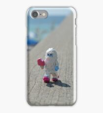 Yeti - Strolling on the Boardwalk iPhone Case/Skin