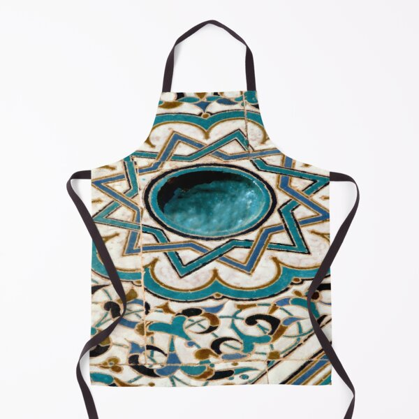 Mosaic Tiles of Moorish Design Apron