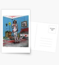 Get Well Soon - Zombie Nurse Postcards