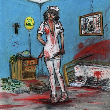 Get Well Soon - Zombie Nurse by GraphiteWeb