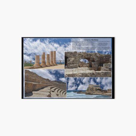 Caesarea Maritima, aka Caesarea Palestinae, Israel Art Board Print