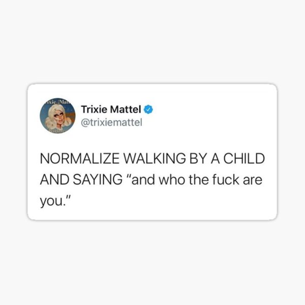 Trixie Mattel - Tweet Sticker