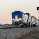 Amtrak Coast Starlight by Steve Boyko