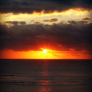 Waikiki Sunset by Ambear92