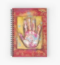 Chinese Energy Hand Spiral Notebook