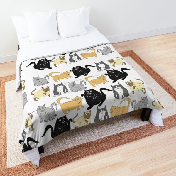 Chonky Cats Comforter