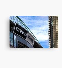 Etihad Stadium Melbourne Canvas Print