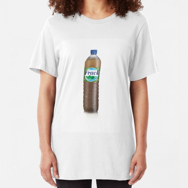 Frack - bottled water Slim Fit T-Shirt