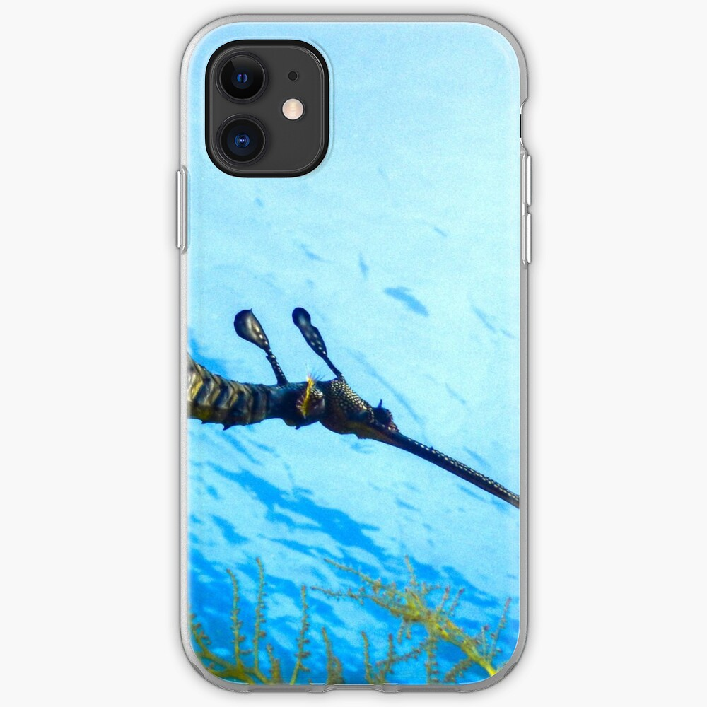 Weedy Seadragon with eggs under the sea iPhone Case & Cover