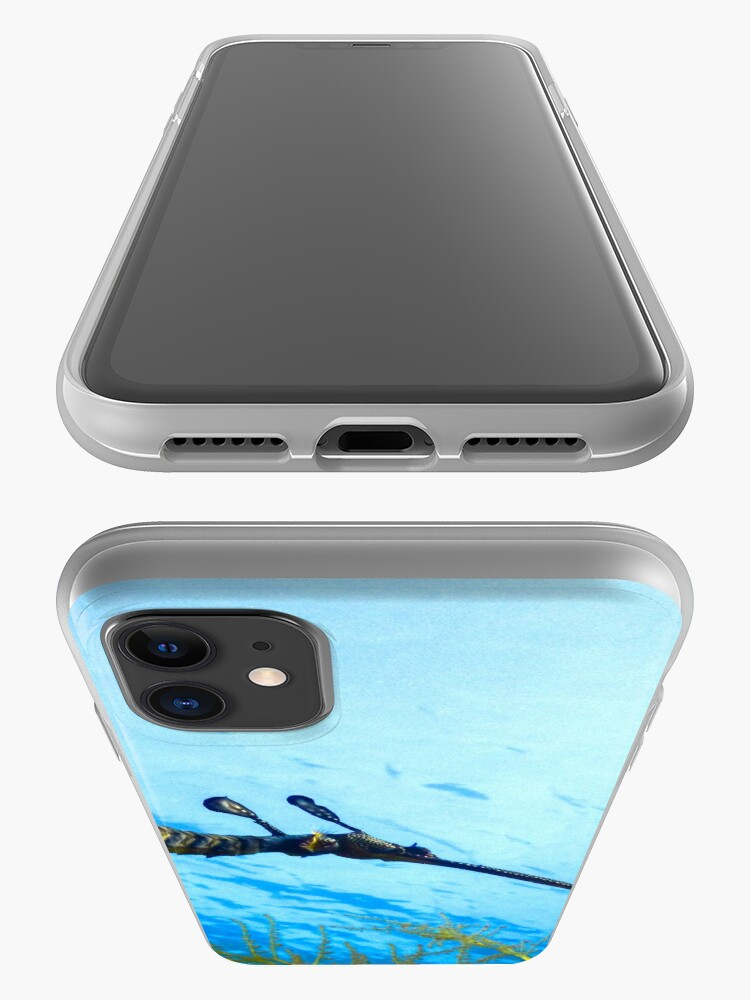 Alternate view of Weedy Seadragon with eggs under the sea iPhone Case & Cover