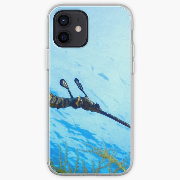 Weedy Seadragon with eggs under the sea iPhone Soft Case