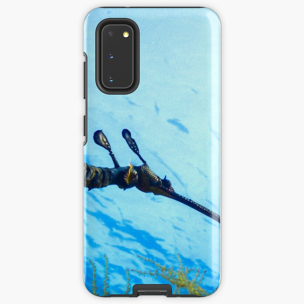 Weedy Seadragon with eggs under the sea Case & Skin for Samsung Galaxy