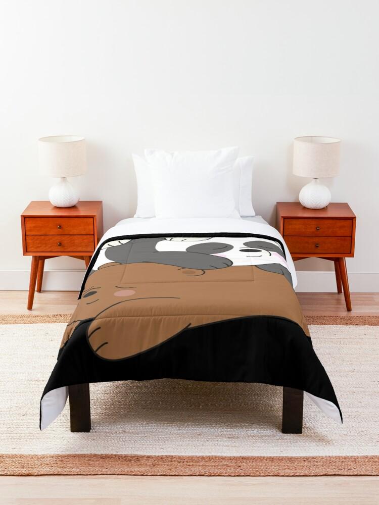Alternate view of We Bare Bears Comforter