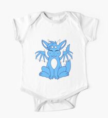 Cute Chibi Blue Dragon Kids Clothes