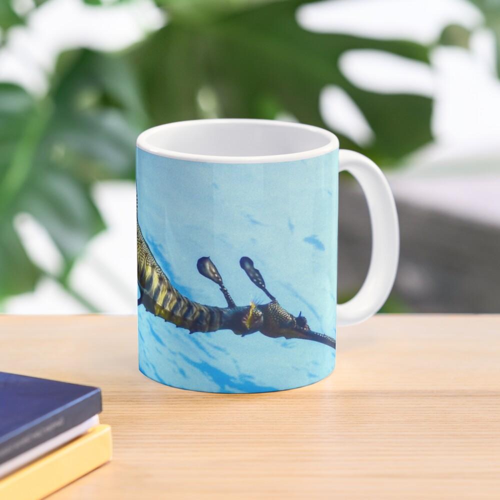 Weedy Seadragon with eggs under the sea Mug