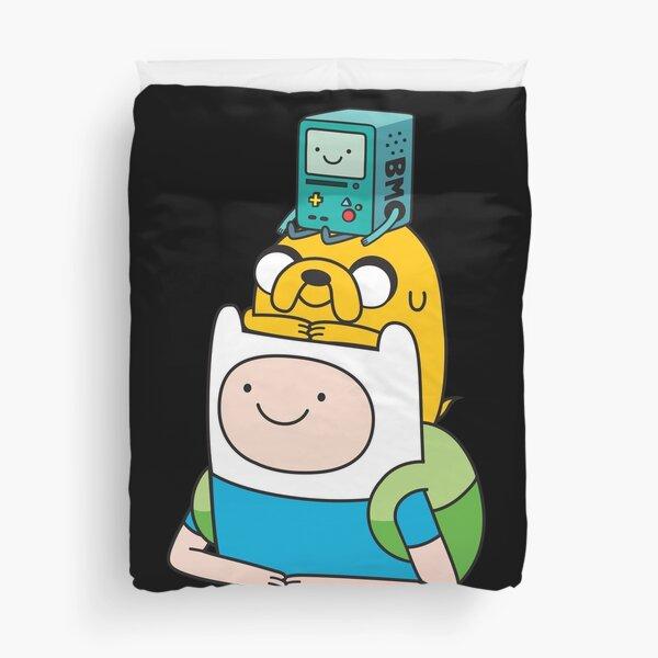 Jake und BMO von AdventureTime ™. Bettbezug
