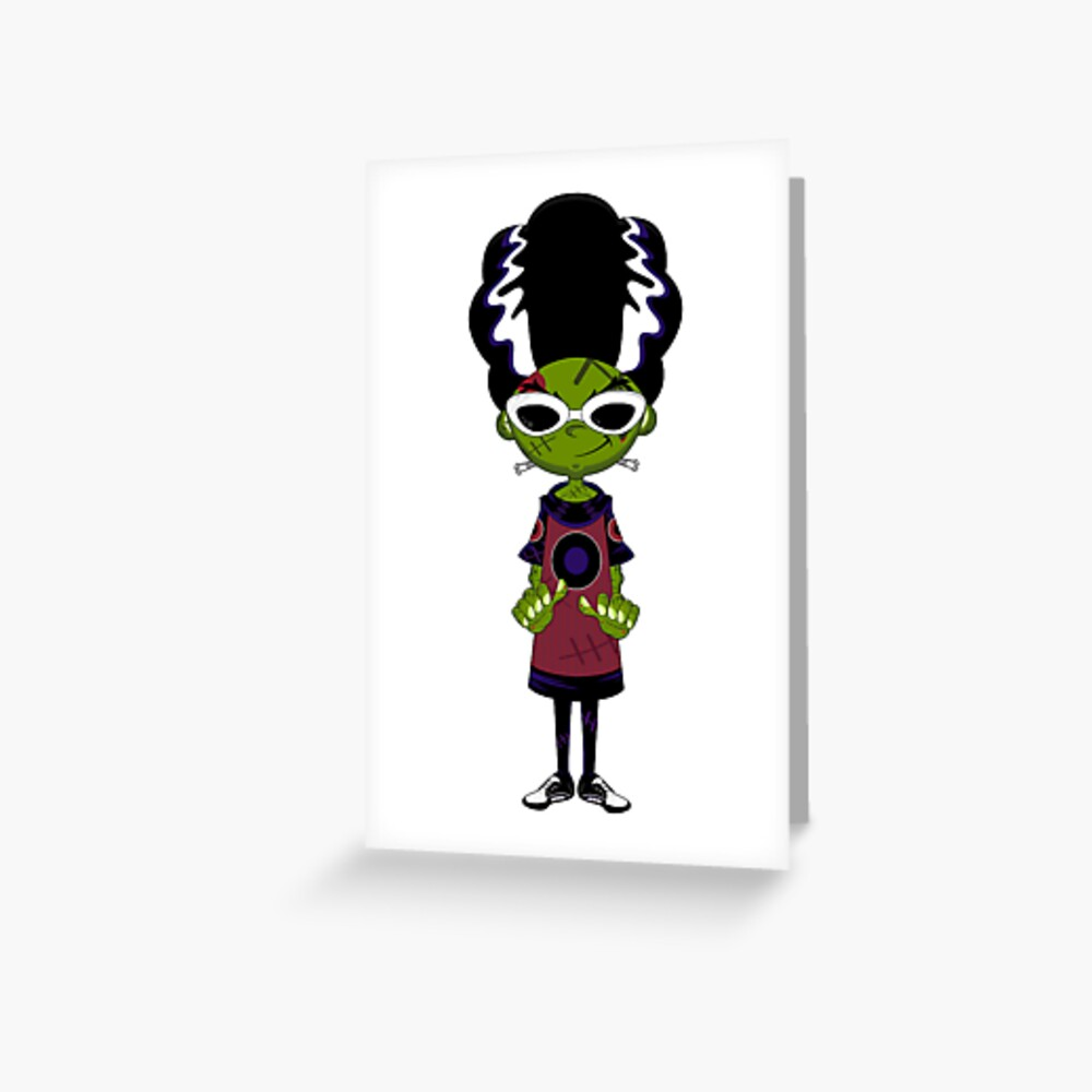 The Best Bride Of Frankenstein Hair Cartoon JPG