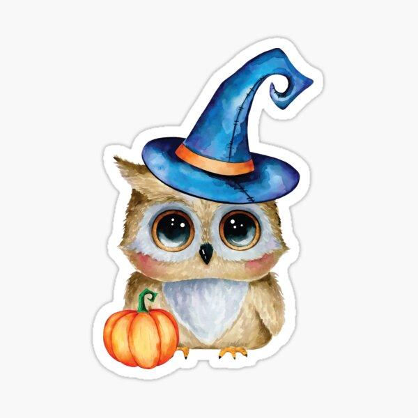 Halloween Owl Sticker