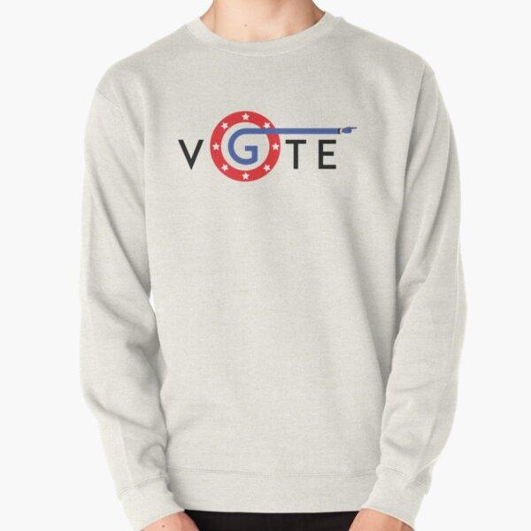 Go Vote america Sticker Pullover Sweatshirt