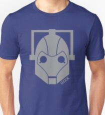 Geek Shirt #1 Cyberman Grey Unisex T-Shirt