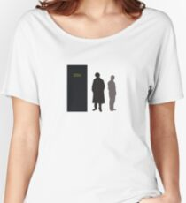 Sherlock Holmes and Dr. Watson Women's Relaxed Fit T-Shirt
