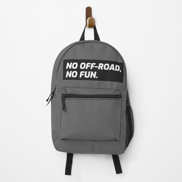 No Off-road, No fun. 4x4 Extreme Overlanding Backpack