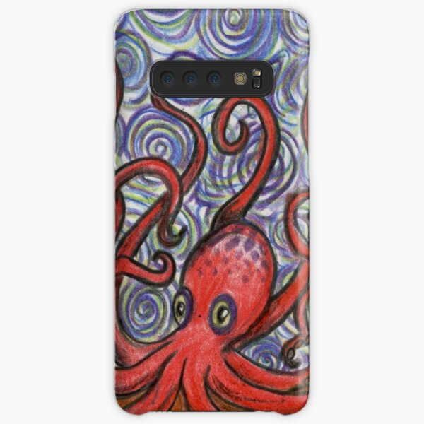 Octopus and Swirls Samsung Galaxy Snap Case
