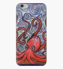Octopus and Swirls iPhone Case