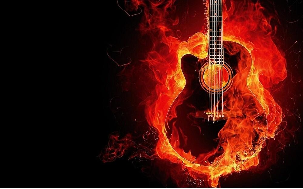 guitar by Fuserche