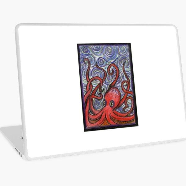 Octopus and Swirls Laptop Skin