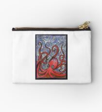 Octopus and Swirls Studio Pouch
