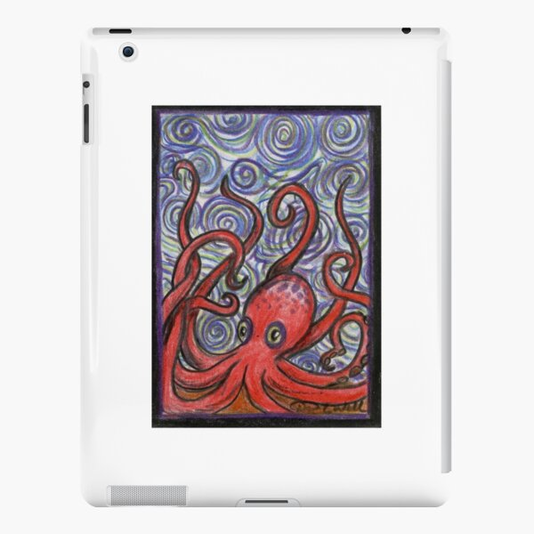 Octopus and Swirls iPad Snap Case