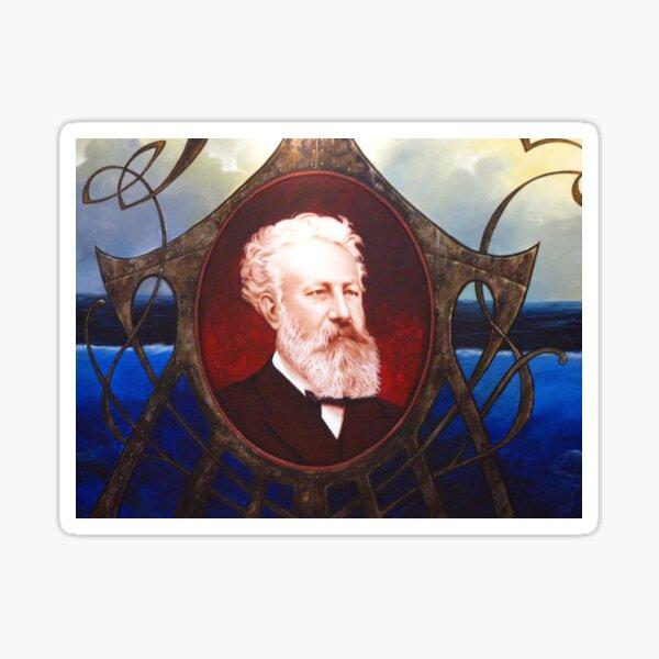 Jules Verne - Nantes, France Sticker