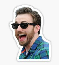 Chris Baevans Laughing Sticker