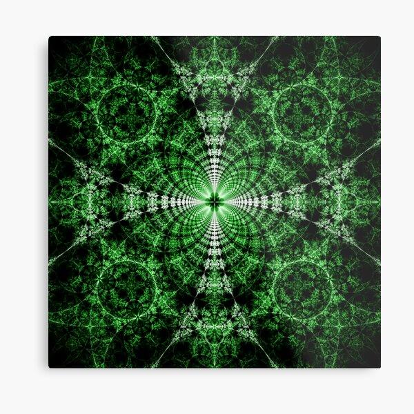 Emerald Plasma Metal Print