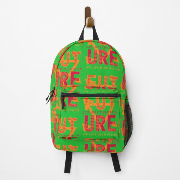 Future - exlore the dream Title of Creativity Calligraphy Text Quotes Backpack
