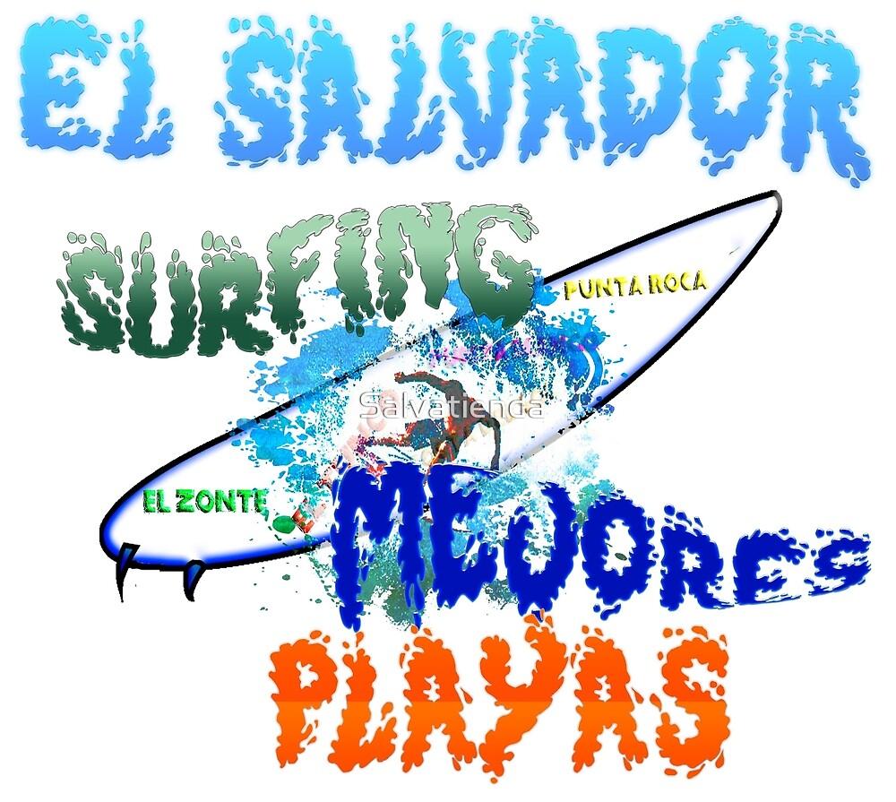 El Salvador mejores playas para surf by Salvatienda