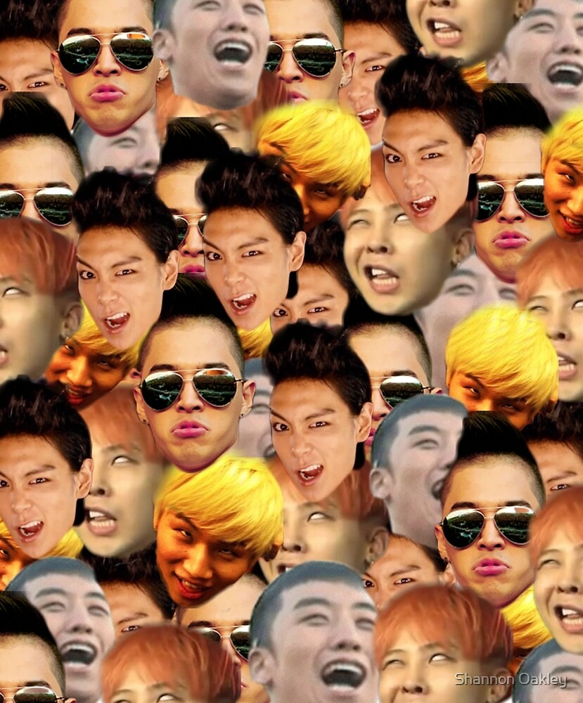BigBang Faces by Shannon Oakley