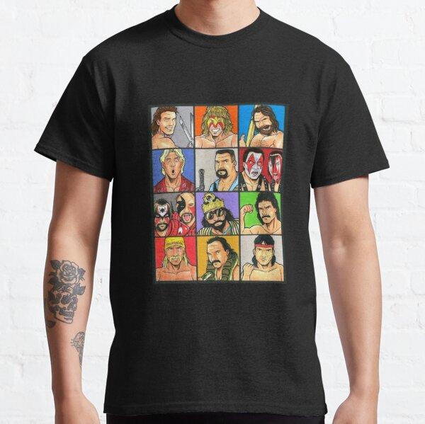 90s wrestling Classic T-Shirt