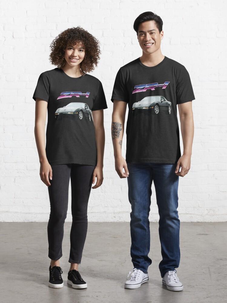 Black C4 Corvette Tail Lights Short-Sleeve Unisex T-Shirt