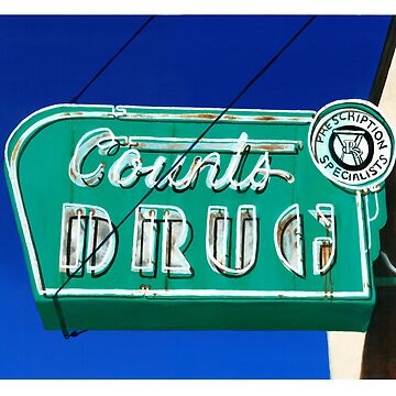 Drug Store Neon Sign by painted-lizard