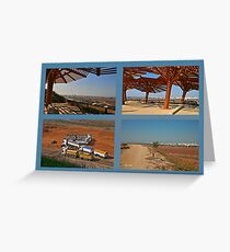 Windows of Landscape Greeting Card