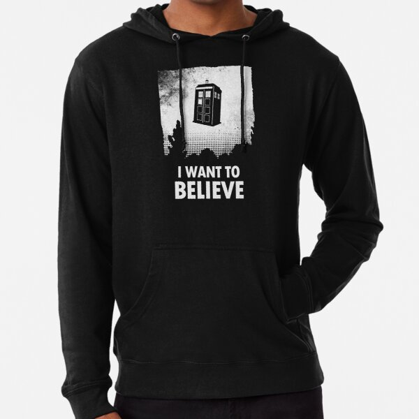 I Want To Believe  Lightweight Hoodie