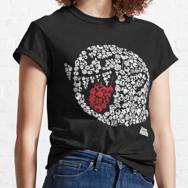 Nintendo Super Mario Iconic Boo Portrait T-shirt graphique T-shirt classique