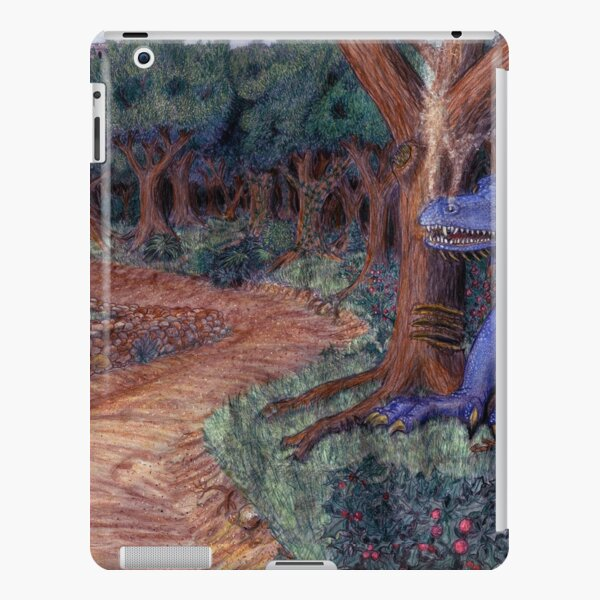 Lying In Wait - Dragon and Maiden iPad Snap Case