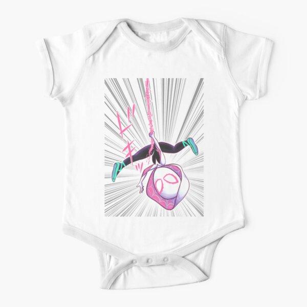 Spider-Gwen Short Sleeve Baby One-Piece